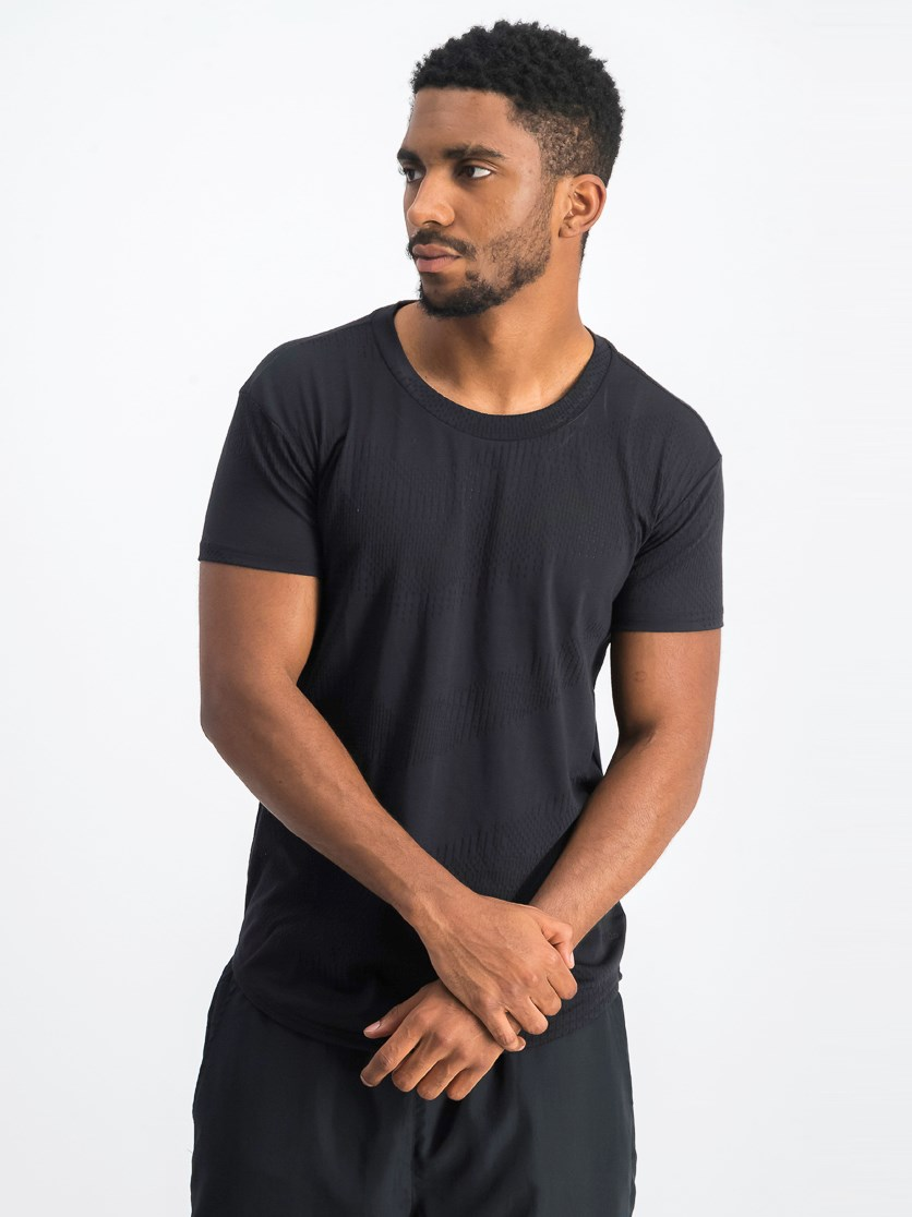 Men's Black Essential T-Shirt, Black
