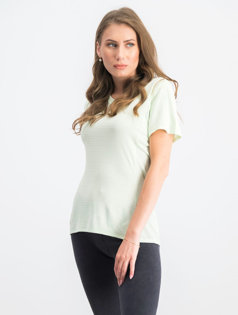 Women's Running Shirt, Mint Green