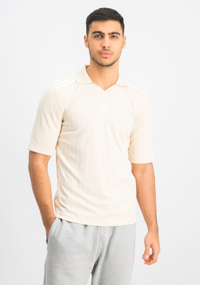 Men's Football Jersey, Beige
