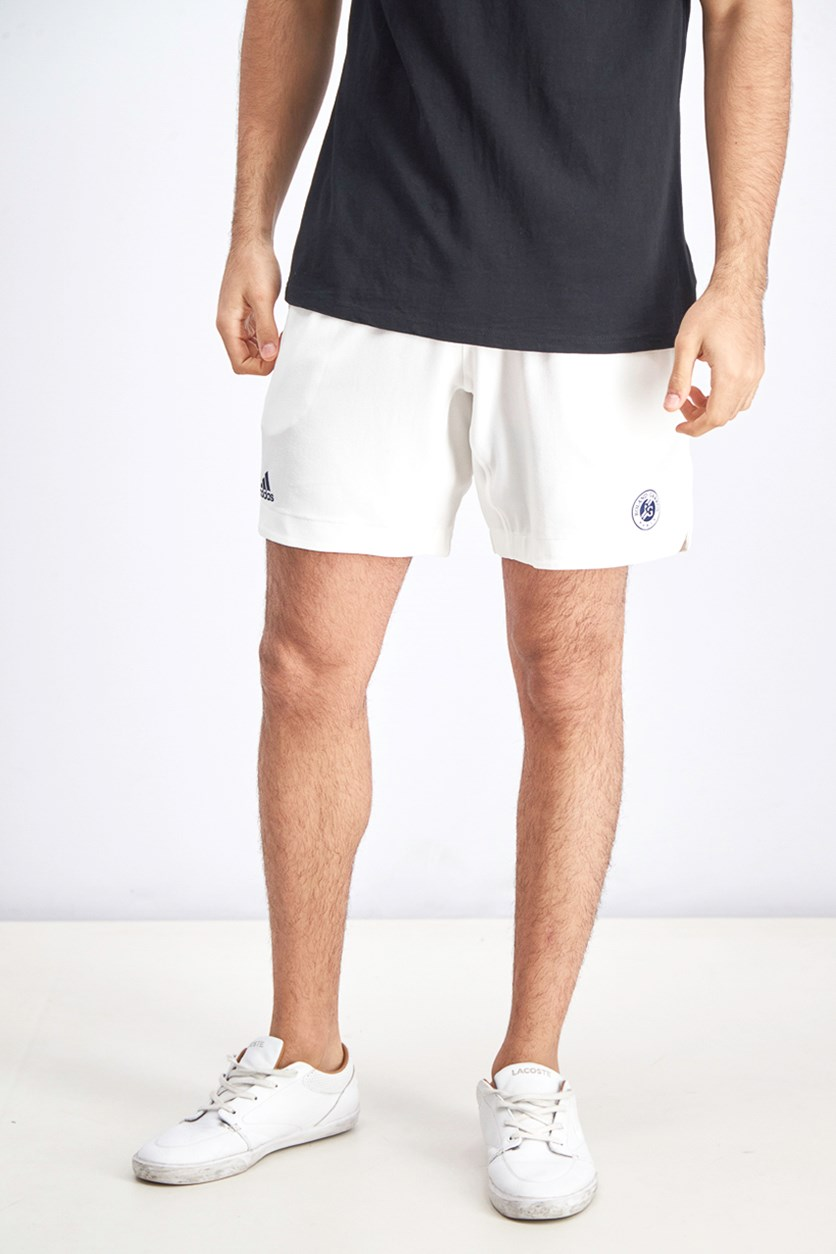 Men's Roland Garros Shorts, White