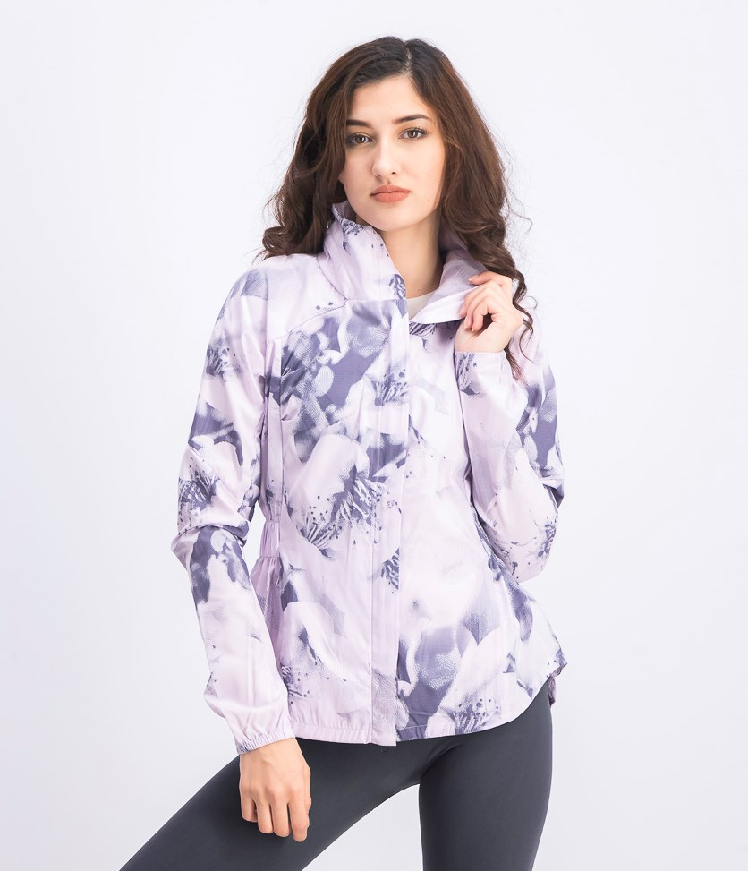 Women's Supernova Graphic Jacket, Lavender