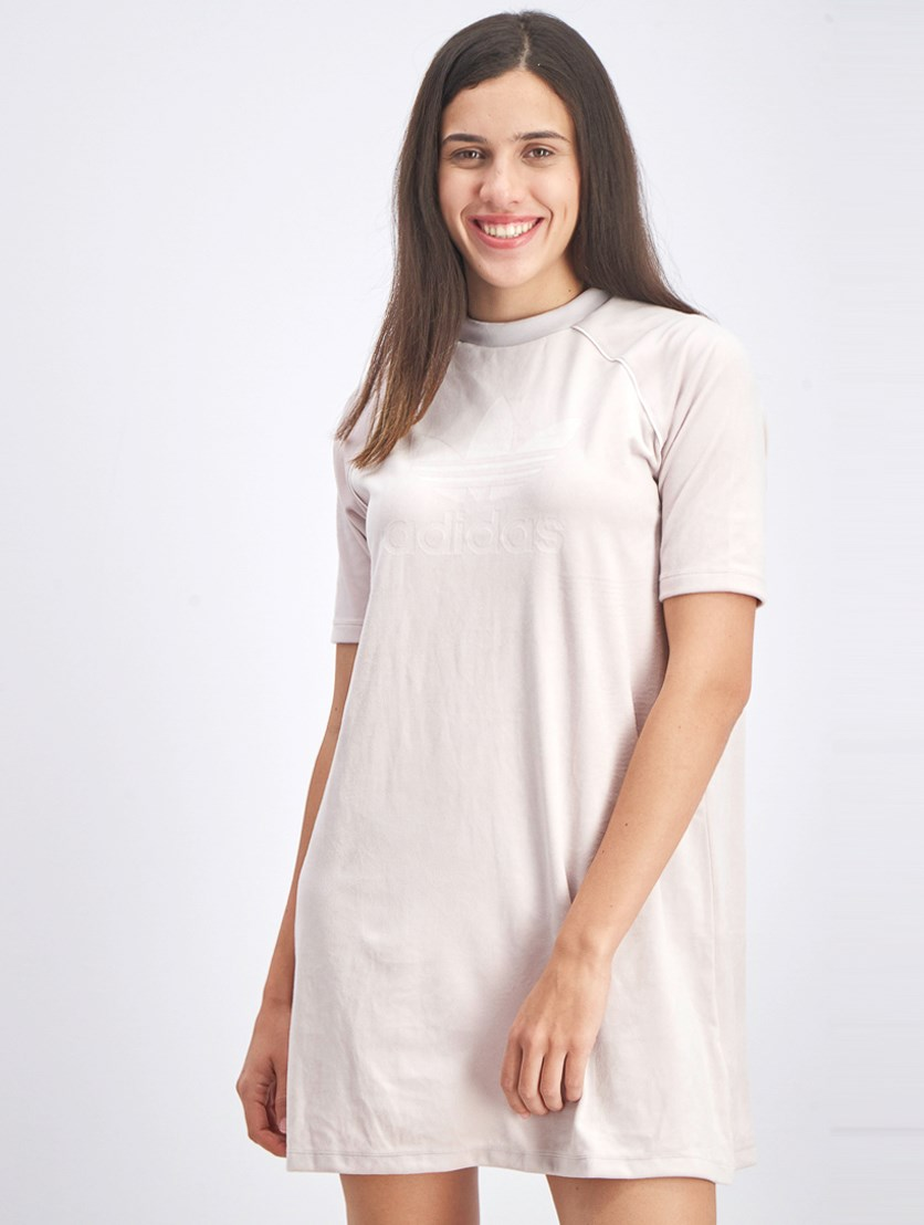 Women's Tee Dress, Ice Purple