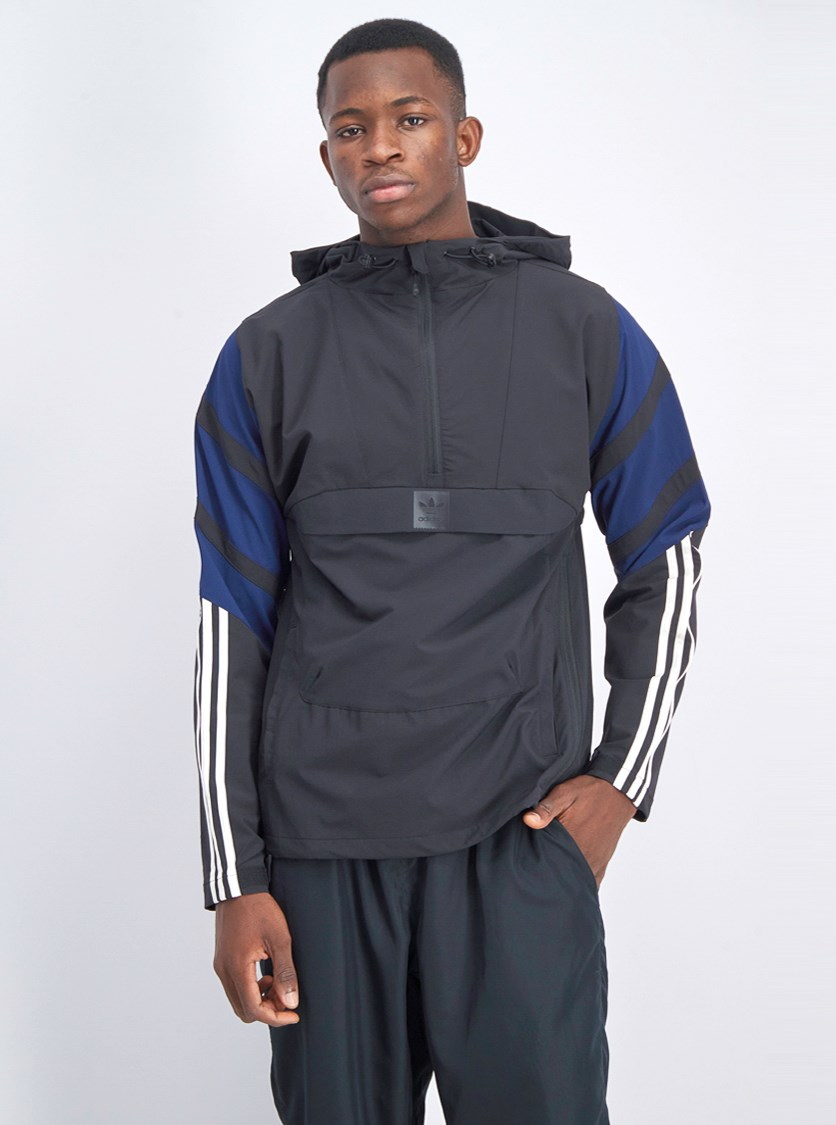 Men's 3 Stripe Jacket, Black