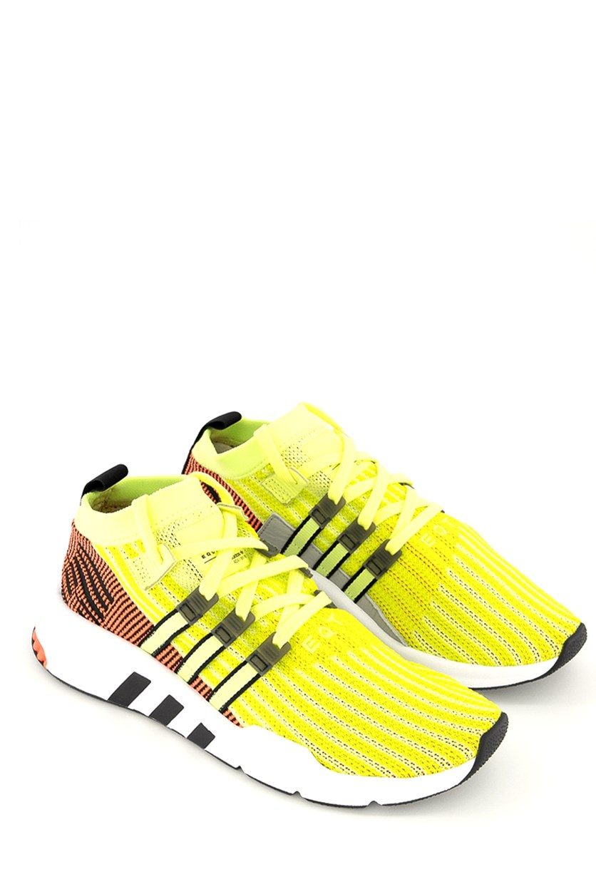 Men's EQT Support Primeknit Sneaker, Lime Green Combo
