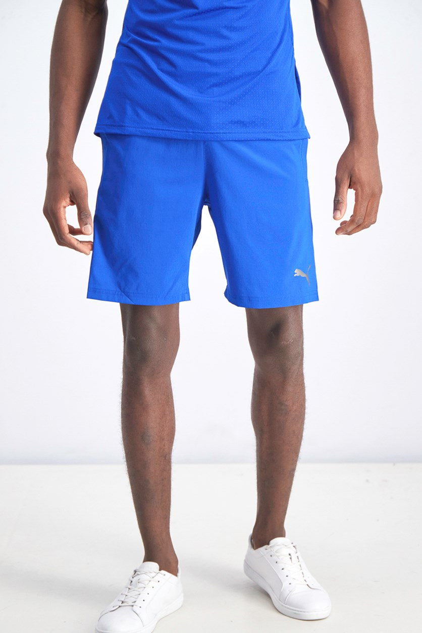 Men's Woven Training Short, Blue