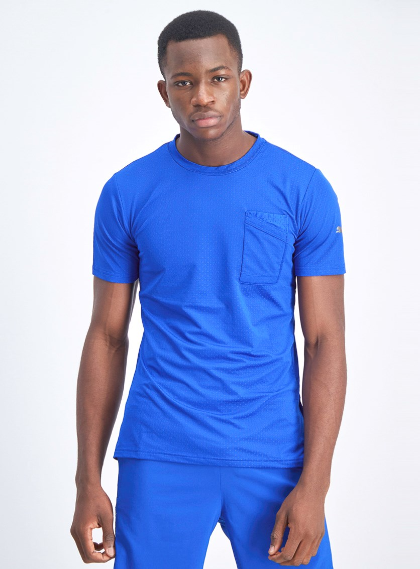 Men's Graphic T-Shirt, Blue