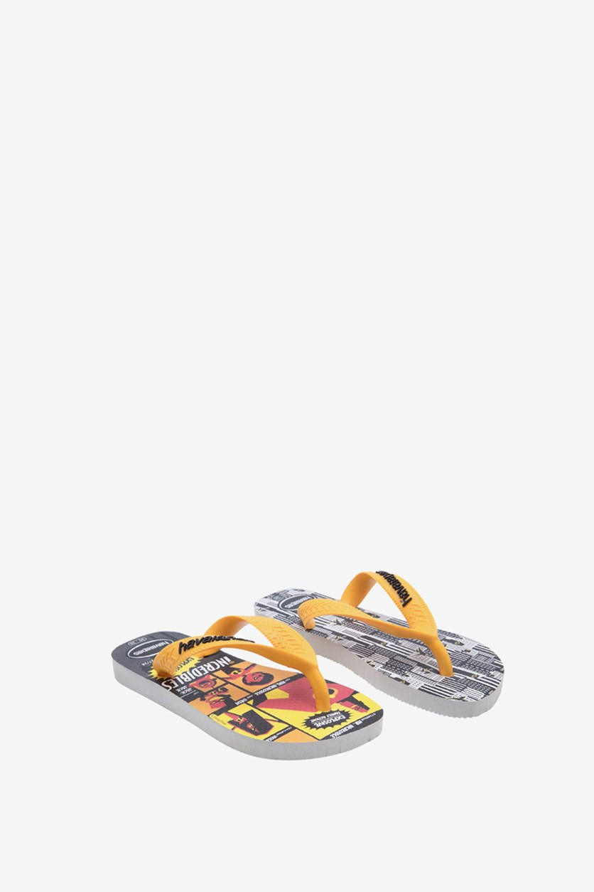 Toddler Boys' Os Incredibles 2 Slippers, White
