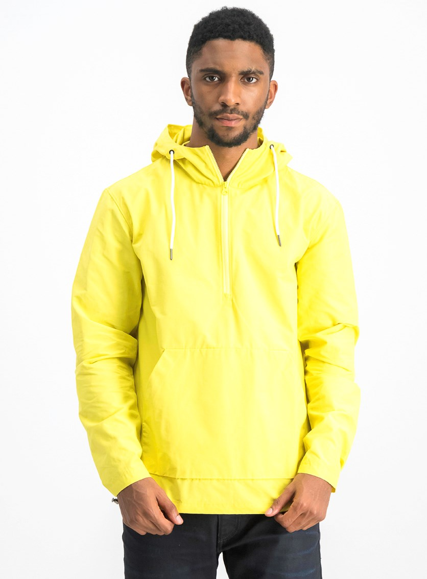 Men's Half Zip Jacket, Yellow