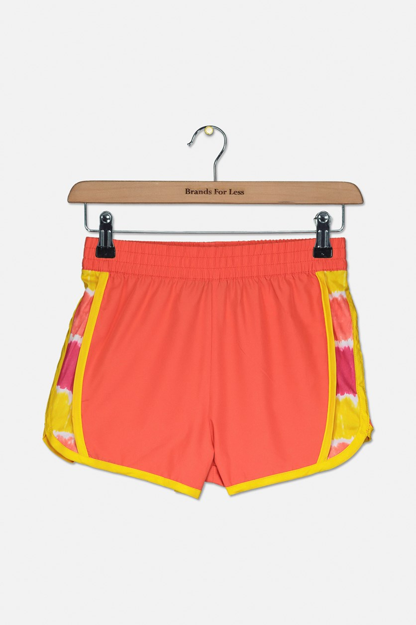 Girls Outdoor Walking Short, Orange