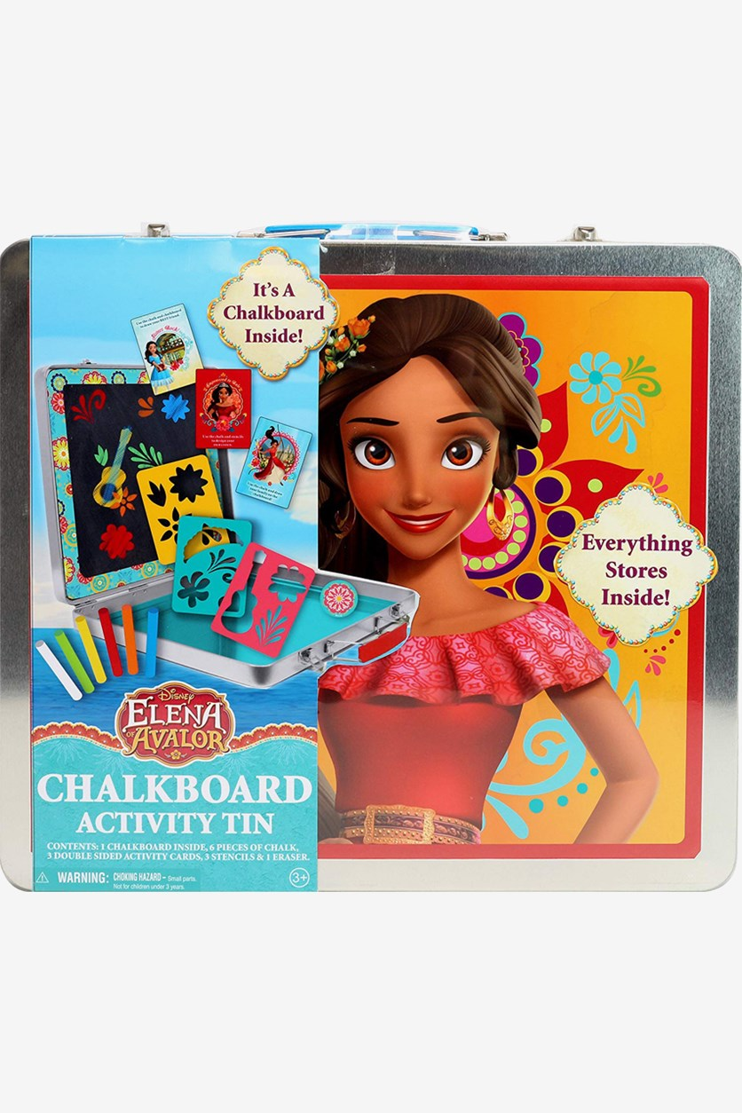 Elena of Avalor Chalkboard Case, Red/Silver