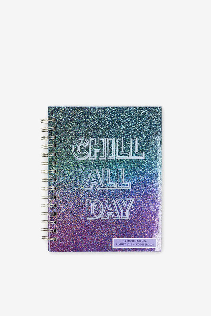 17 Months Agenda Weekly Diary And Planner, Blue Combo