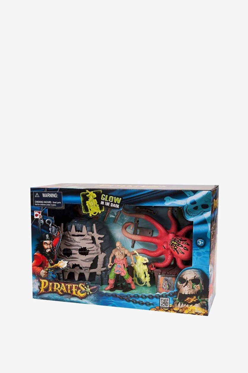 Pirates Deep Water Battle Playset, Orange Combo