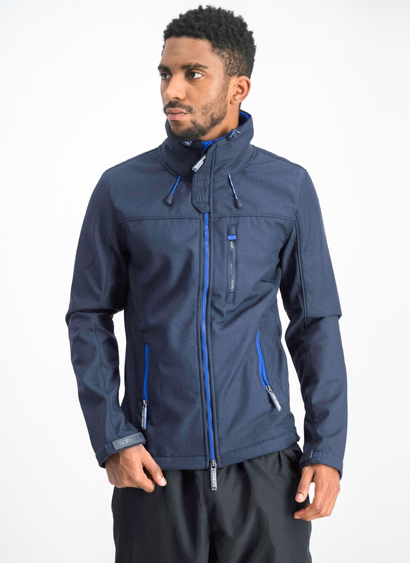 Men's Windbreaker Jacket, Midnight Navy