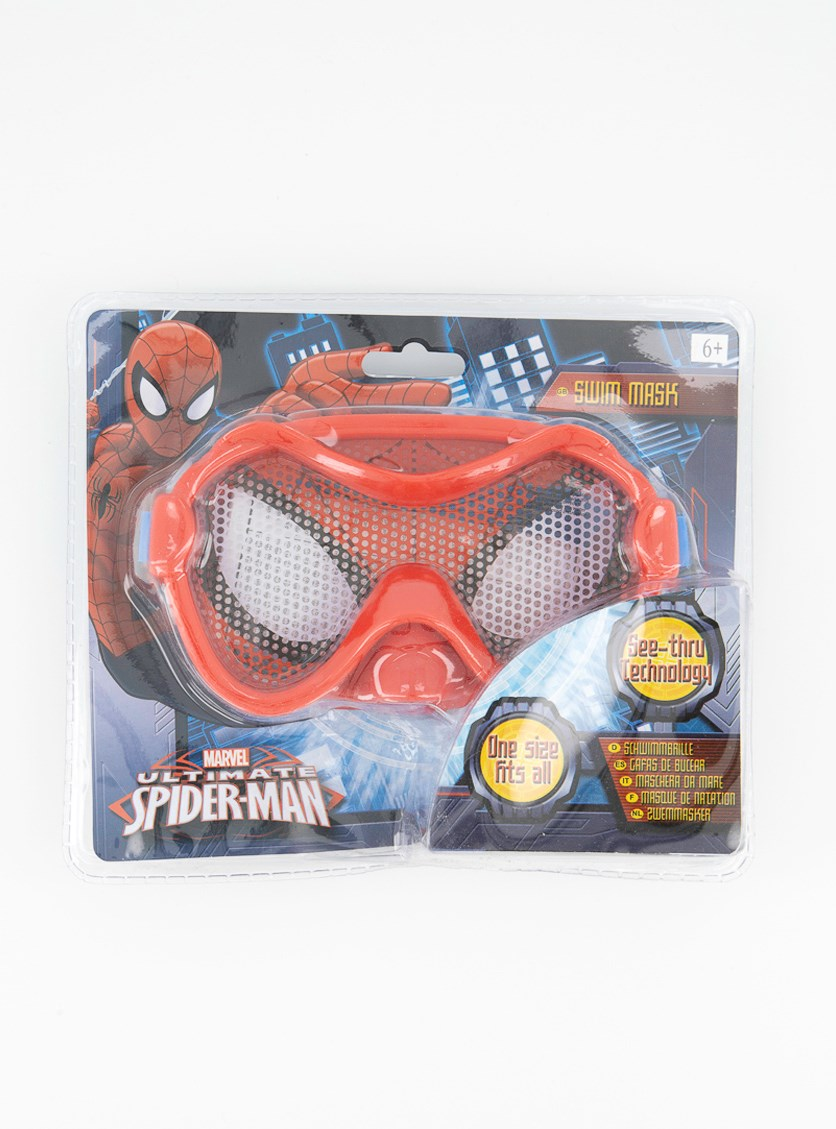 Ultimate Spiderman Swimming Mask, Red
