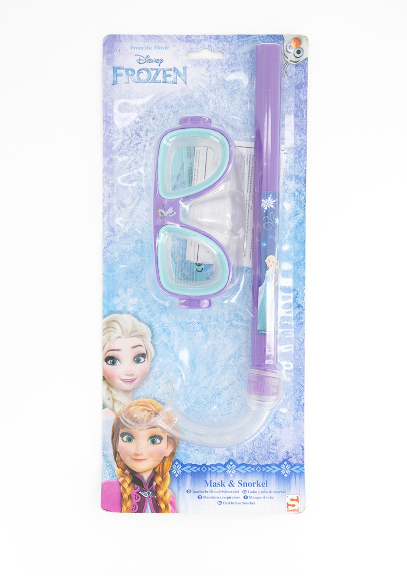 Frozen Mask and Snorkel, Purple