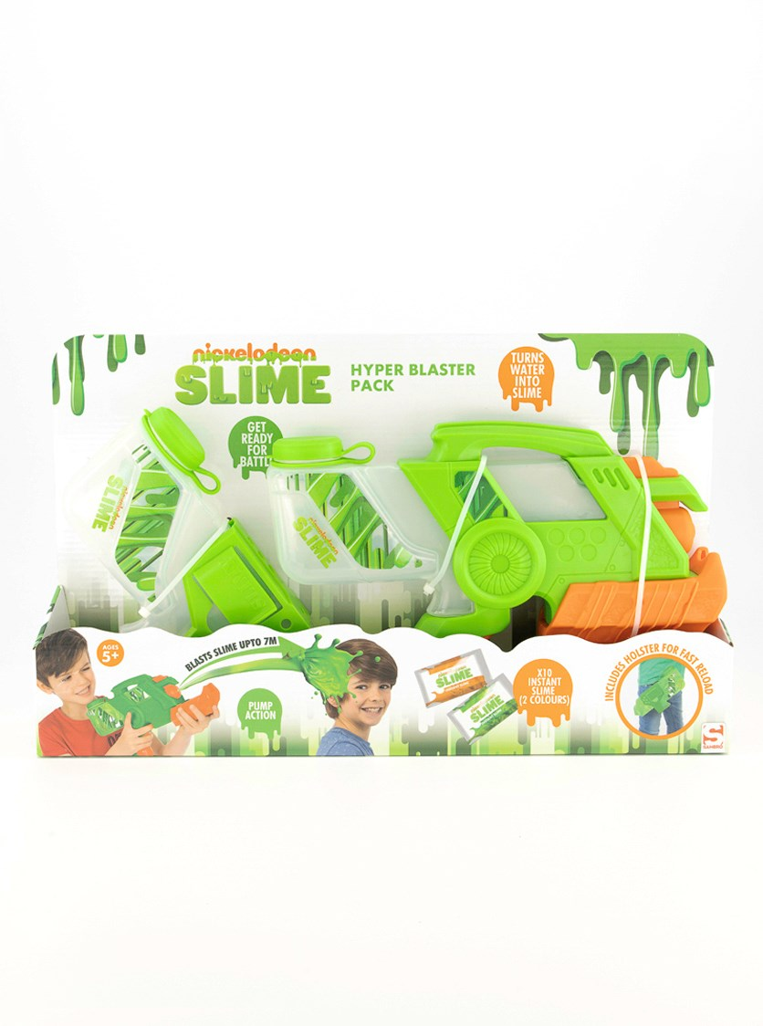 Nickelodeon Slime Hyper Blaster Shooter, Green