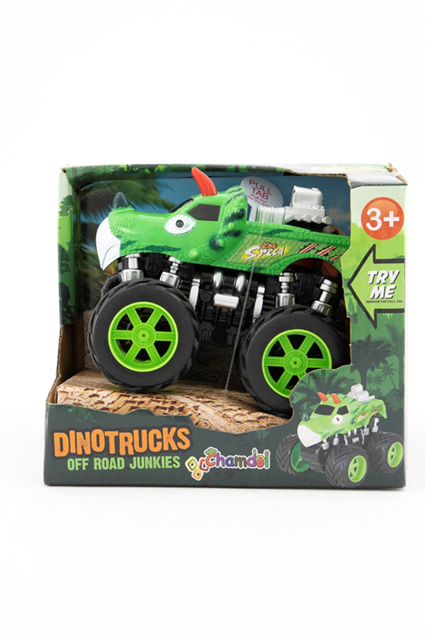 Off Road Junkies 4X4  Truck W/ Light And Sound, Green