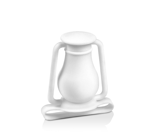 Fred & Friends Phone Diffuser Lantern Travel Lamp, White