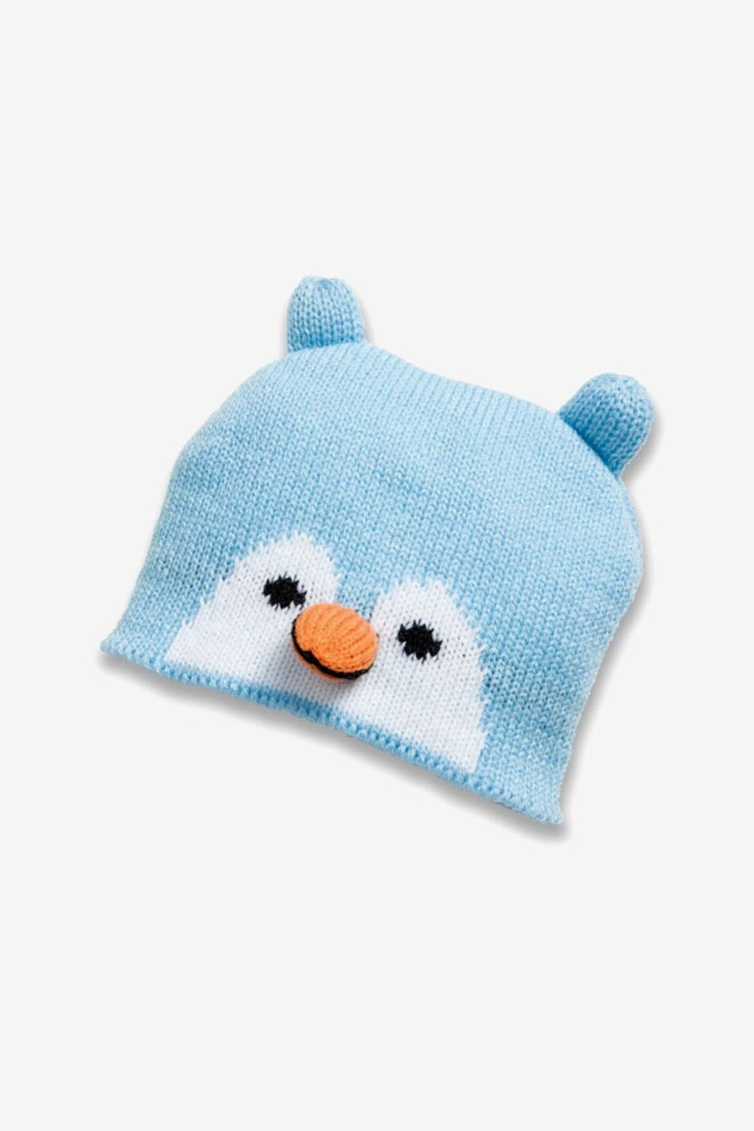 Dolls Penguin Cap, Light Blue
