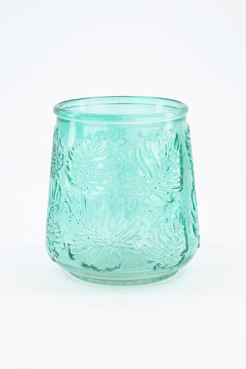 Tealight Holder, Blue Green