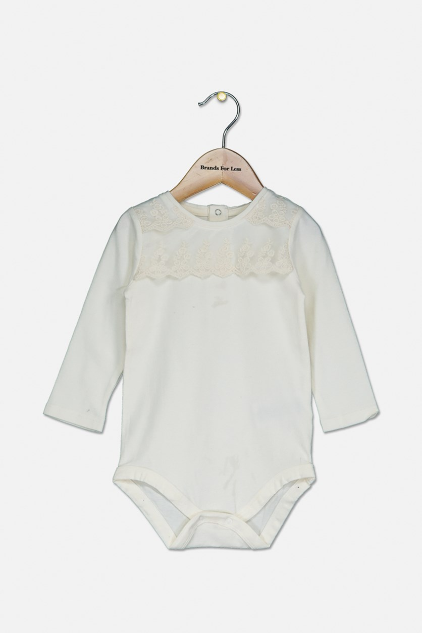 Toddler Girl's Bodysuit, Off White