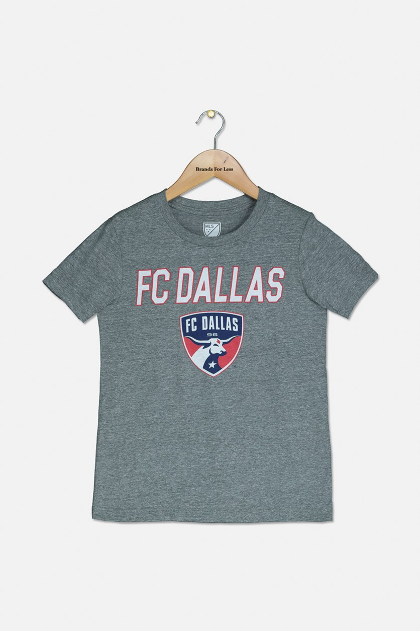 Boys FC Dallas Graphic Tee, Grey Heather