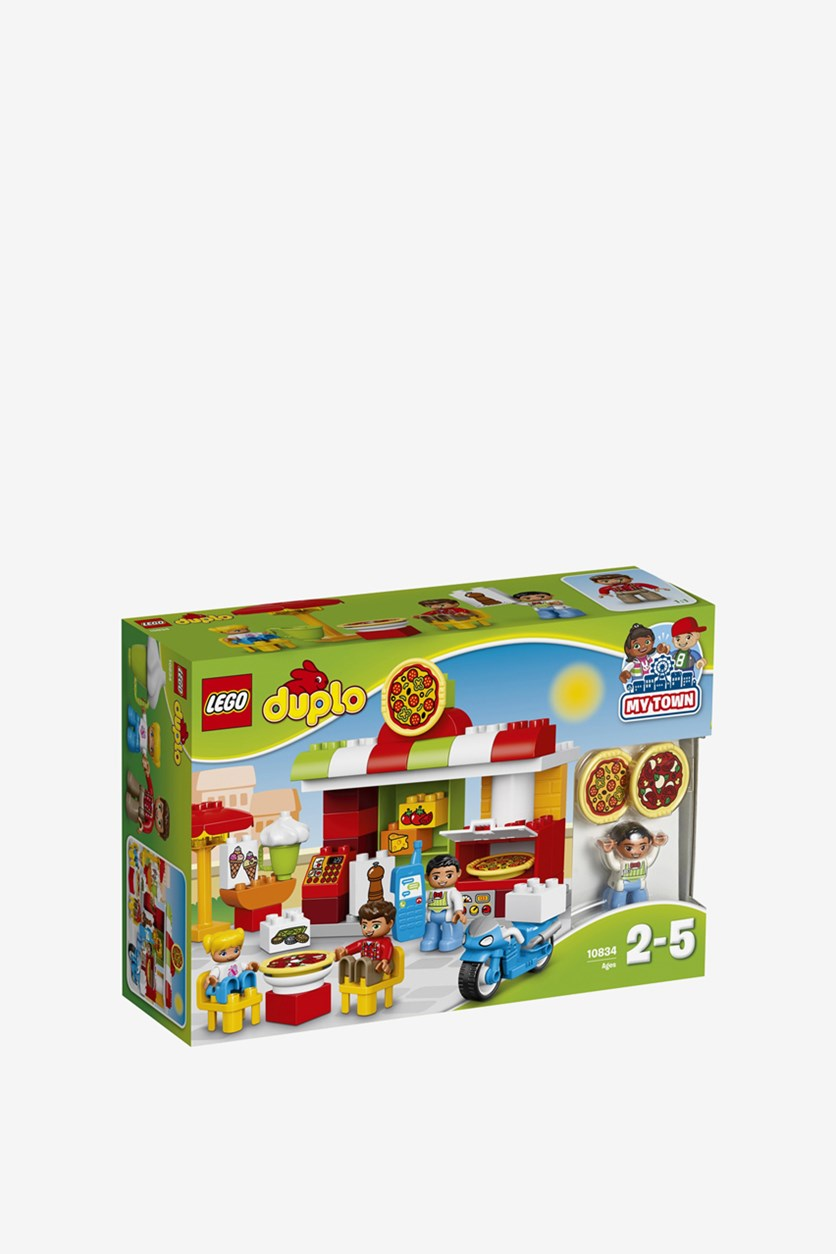 Duplo Pizzeria Constructor, Red/Yellow/Blue