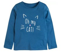 Baby Girl's Graphics T-Shirts, Blue