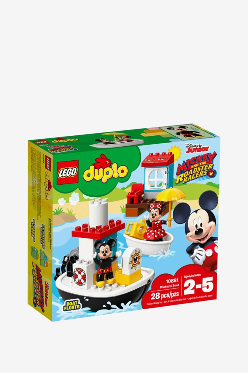 Duplo Disney Mickey And Minnie's Birthday Boat, Red Combo