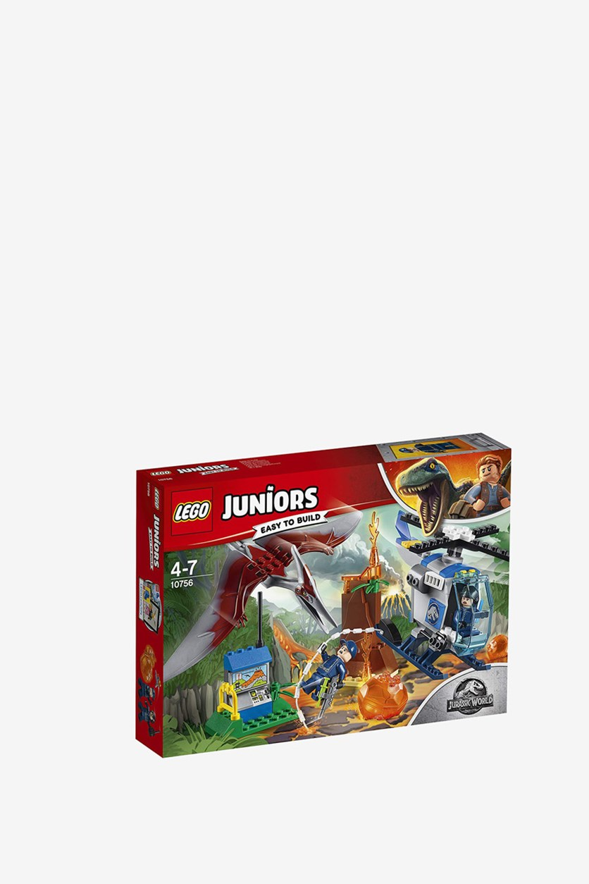 Juniors Jurassic World Escape From The Pteranodon Building Kit, Red Combo