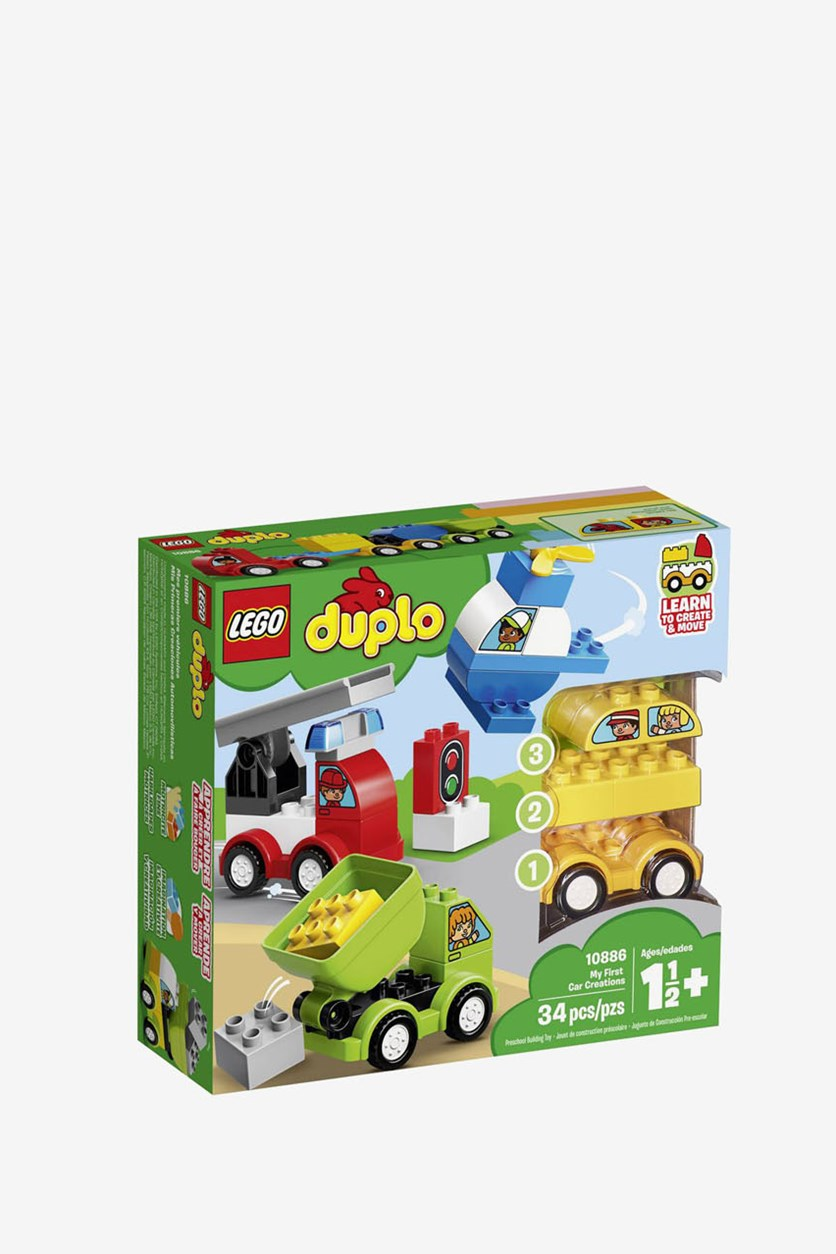 Duplo 10886 My First My First Car Creations, Green Combo