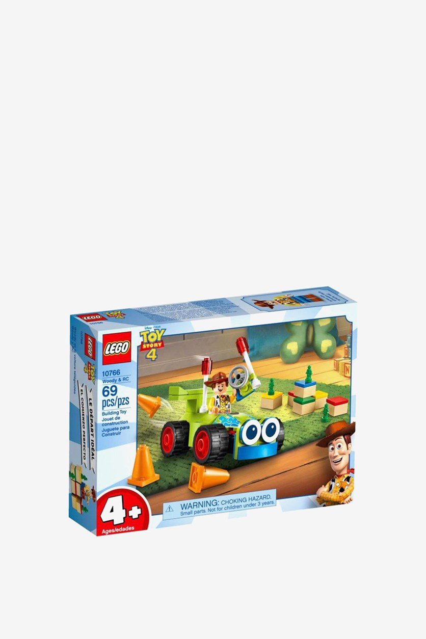 Disney Toy Story Woody & Rc, Blue/Green Combo