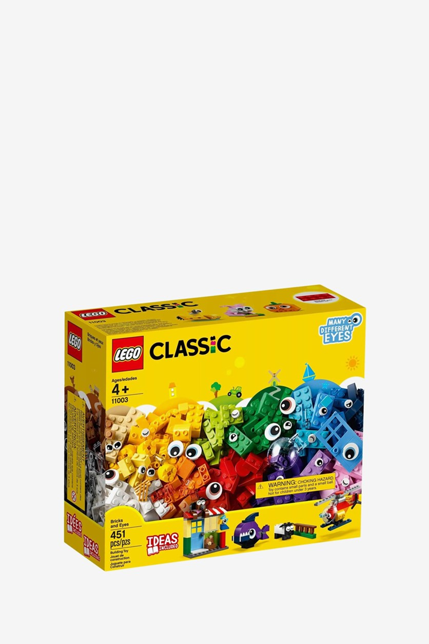 Classic Building Blocks Funny Figures, Yellow Combo