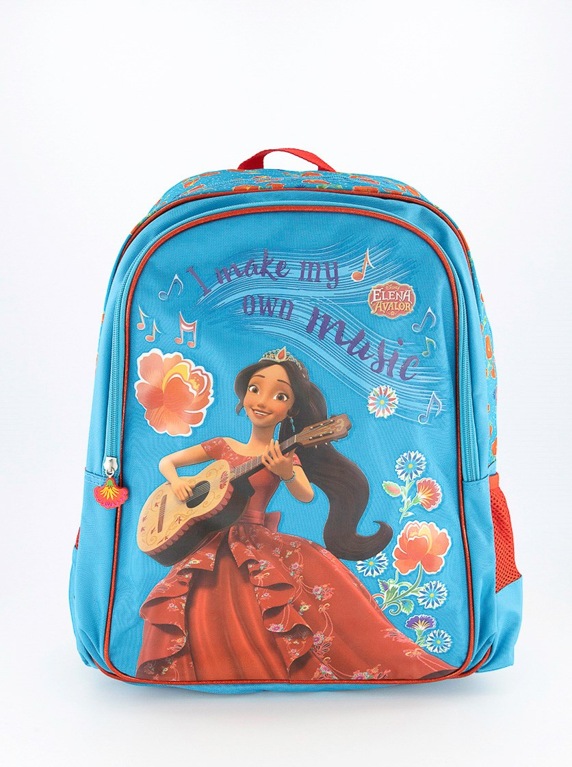 Girls Disney Elena Avalor Backpack, Aqua Combo