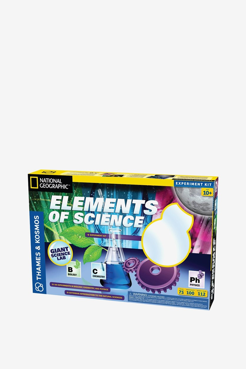 Kid's Elements of Science Kit Set, Blue Combo