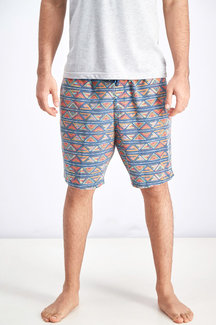 Men's Sundays Layback Short, Blue Combo