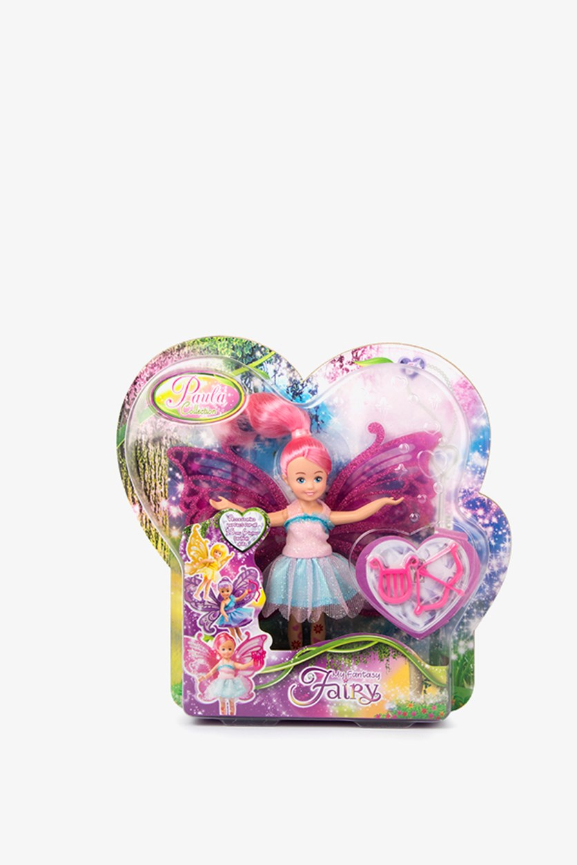 Paula Collection Fantasy Fairy Doll, Pink