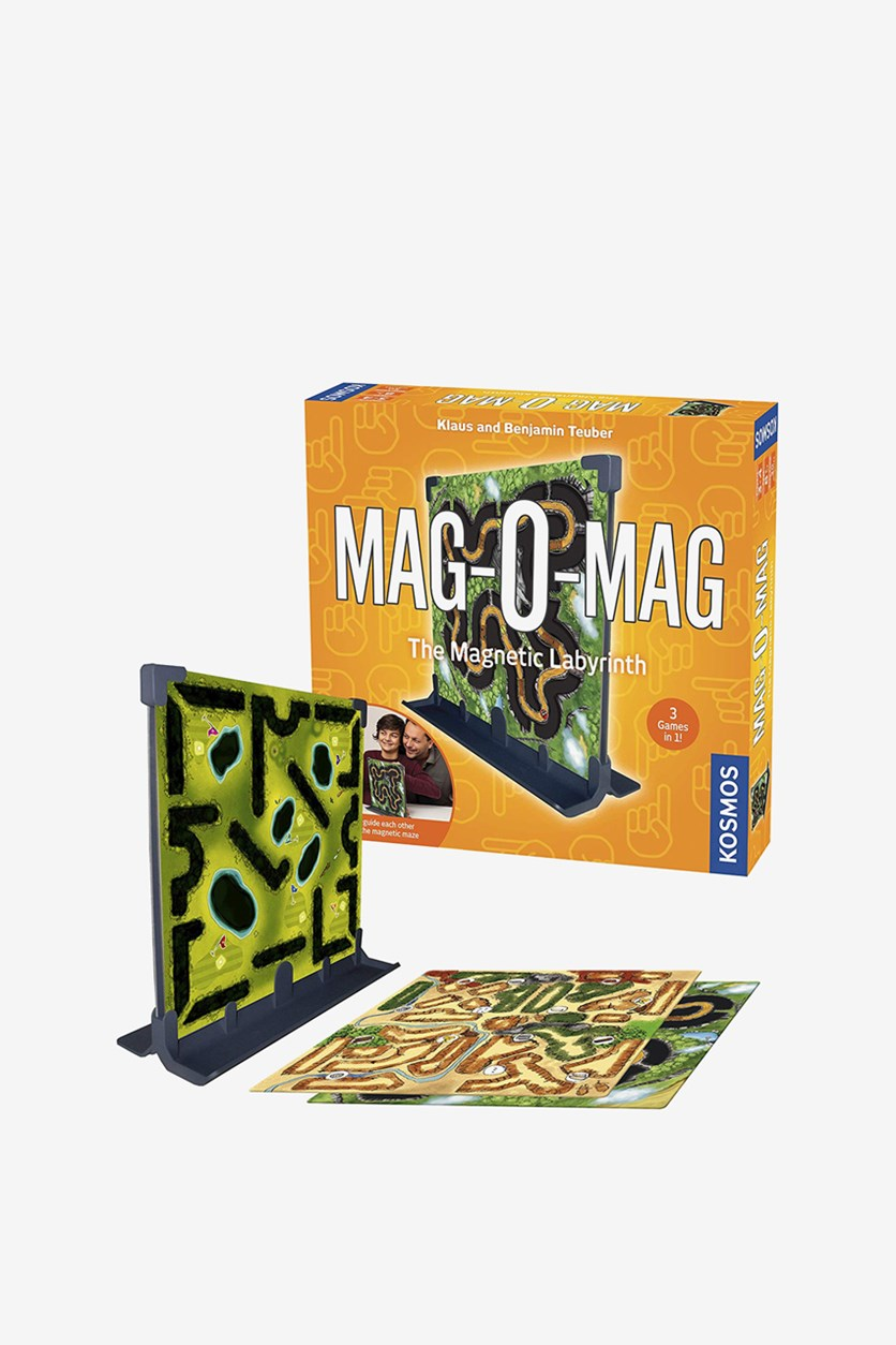 Kid's Mag-O-Mag Board Game, Orange/Green