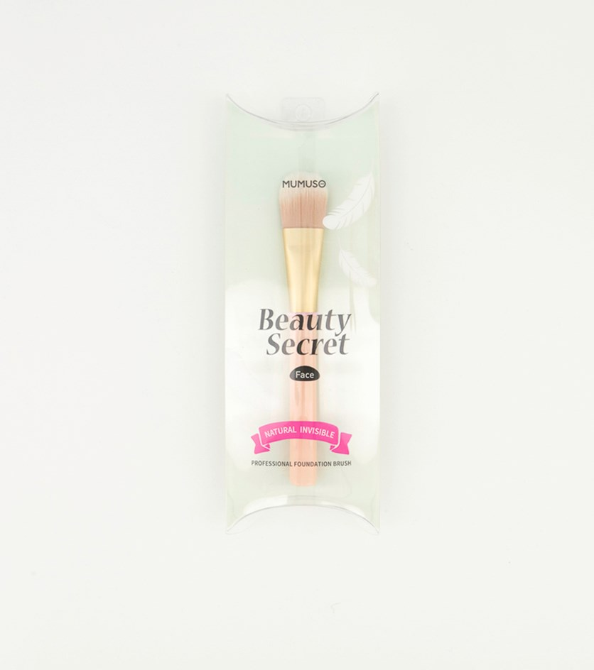 Professional Foundation Brush, Pink