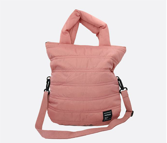 Lightweight Shoulder Bag, Pink
