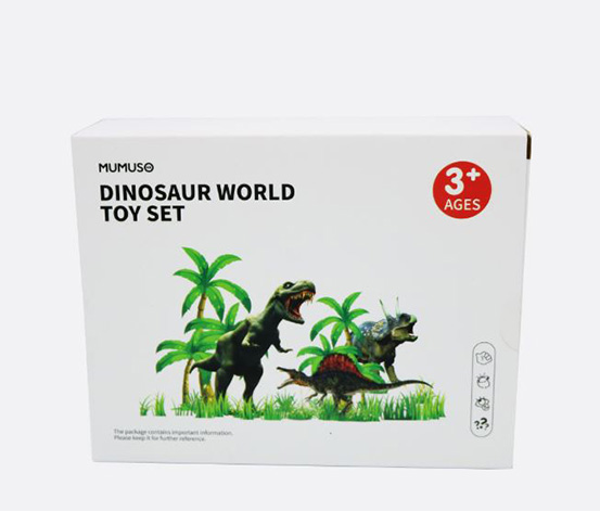Dinosaur World Toy Set, Green