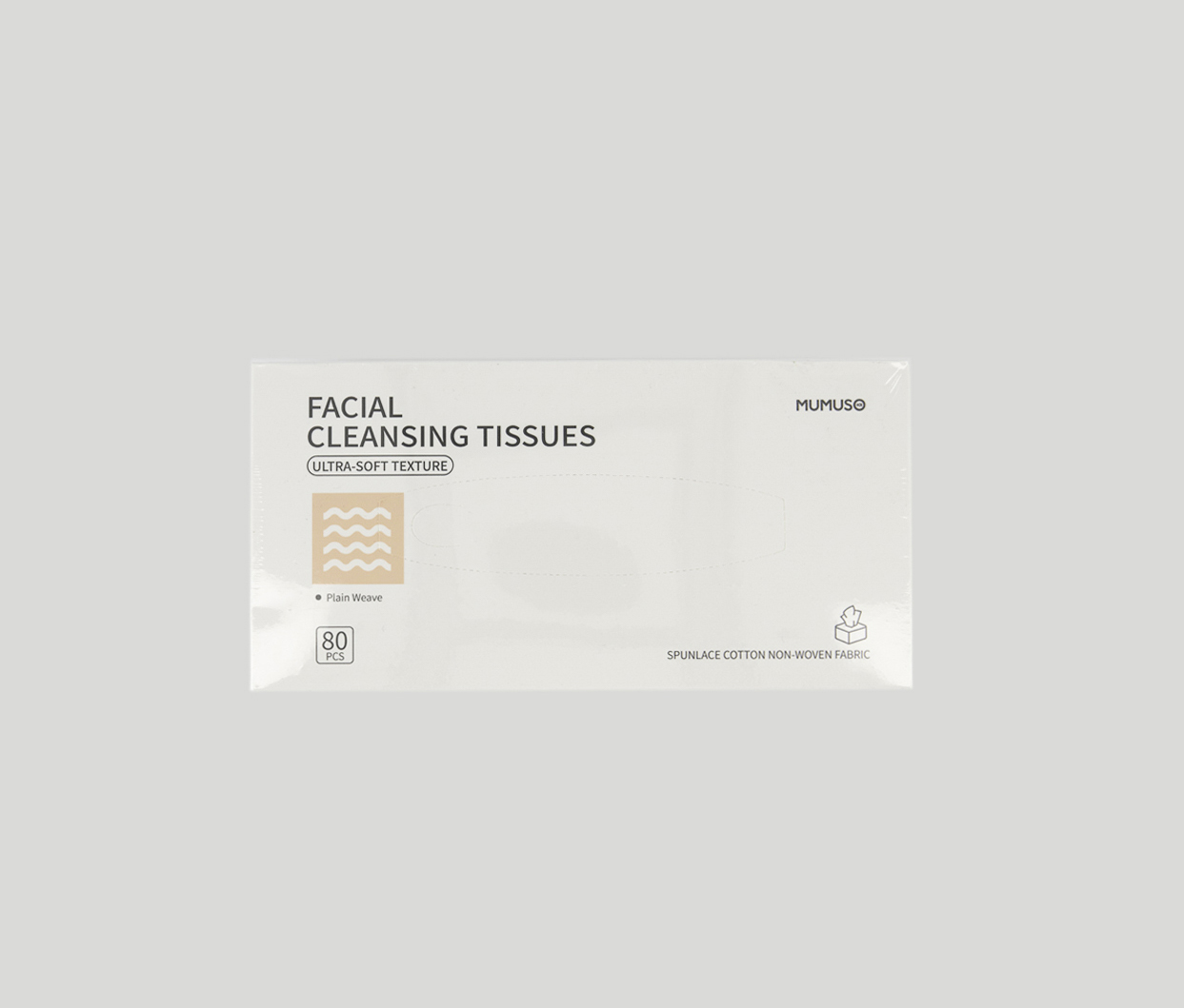 Facial Cleansing Tissues, White