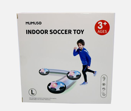 Indoor Soccer Toy, Black