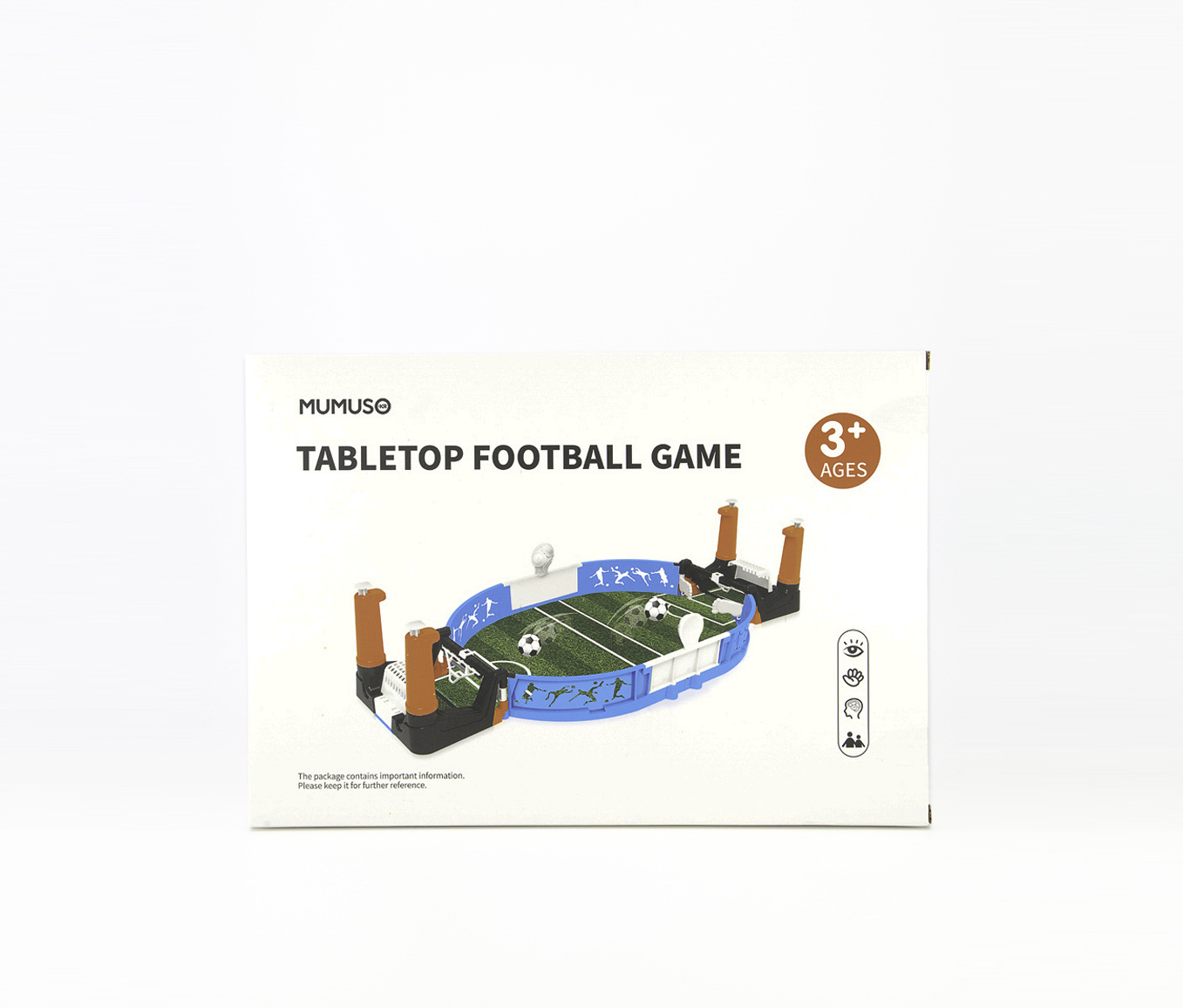 Tabletop Football Game, White