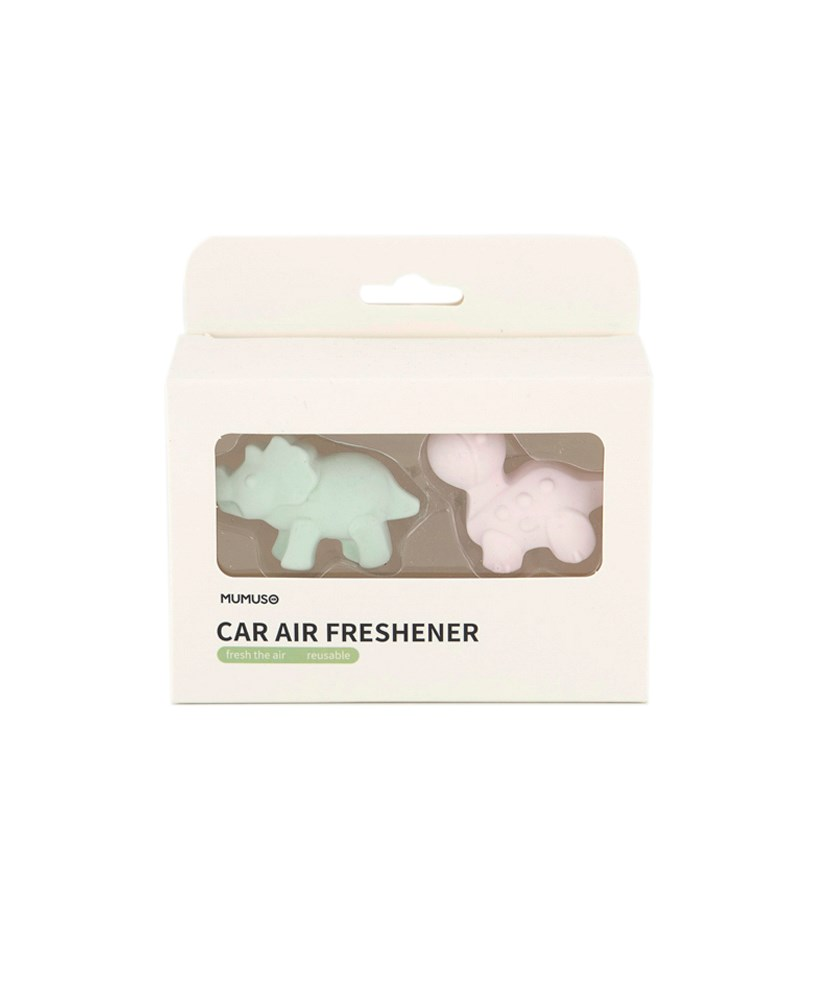 2 Pack Animal Series Car Vent-Clip Air Freshener, Pink/Green