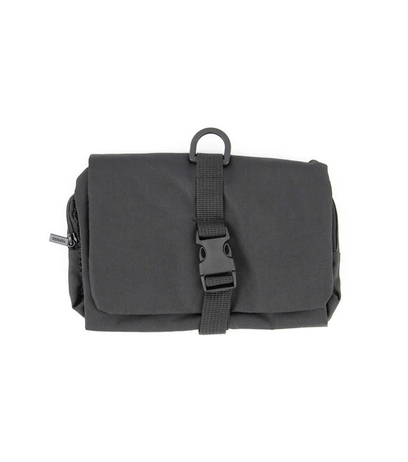 Tri-fold Toiletry Bag, Black