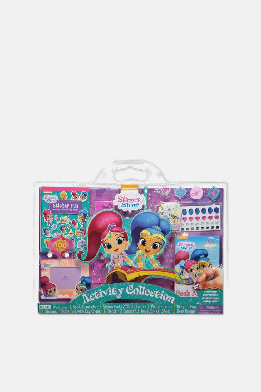 Shimmer & Shine Activity Collection 100 + Pc. Creativity Set, Pink/Blue