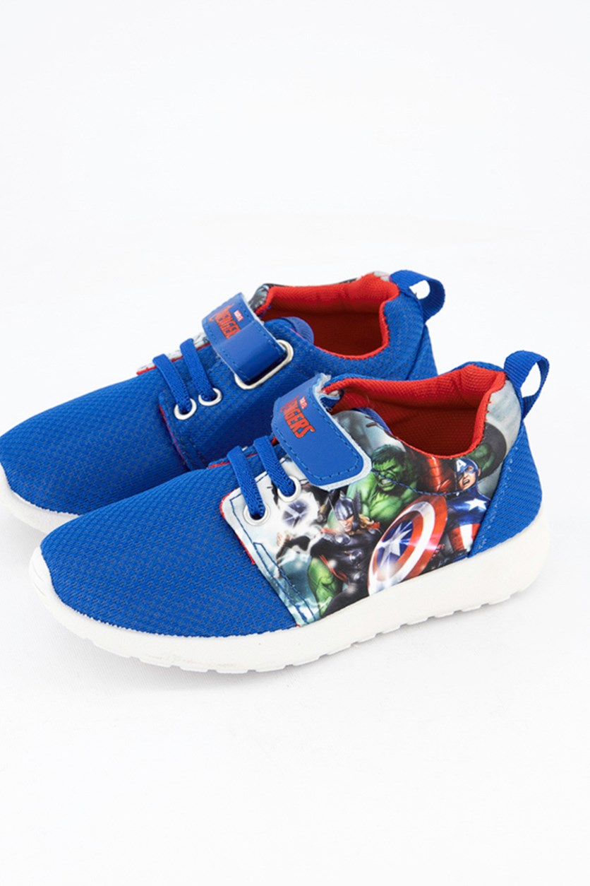 Kids Boys Avengers Shoes, Blue