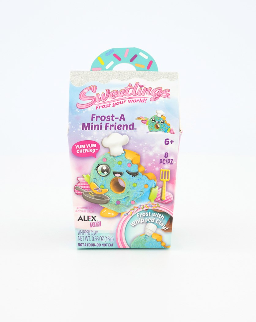 Sweetlings Frost A Mini Friend Chefling, Pink/Turquoise