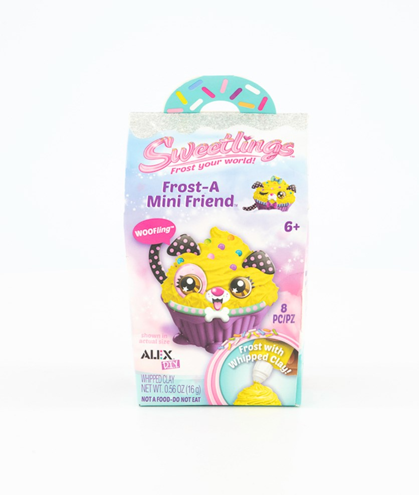 Sweetlings Frost a Mini Friend Woo Fling, Yellow/Pink